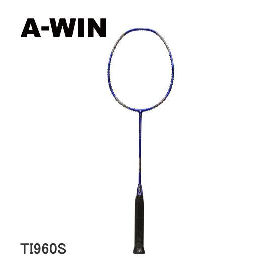 A-WIN / アーウィン バドミントンラケット TI960S (96ホール仕様) 【オススメガット&ガット張り工賃無料】