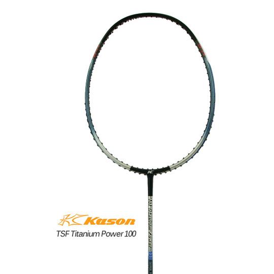 Kason TSF Titanium Power 100 カーソン バドミントンラケット【オススメガット&ガット張り工賃無料】