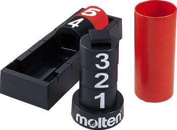 molten BFN5 バスケットボール 設備・備品 ファウル表示盤5ファウル用 モルテン【取り寄せ】
