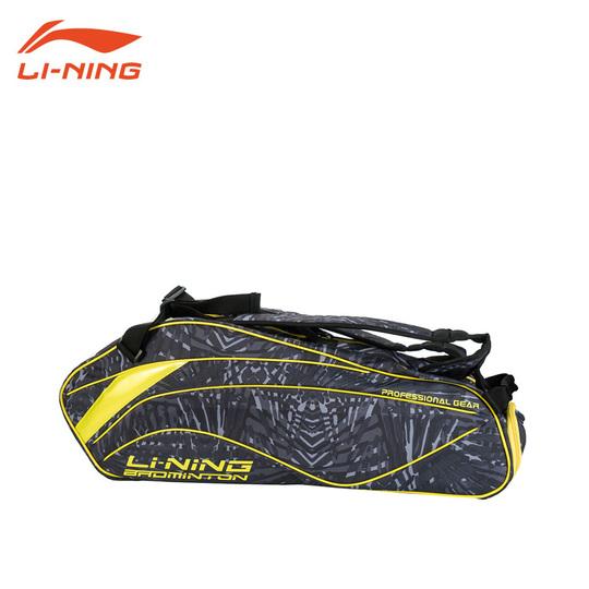 LI-NING ABJM008-2 ブラック ラケットバッグ 中国ナショナルチーム仕様(6本入) リーニン