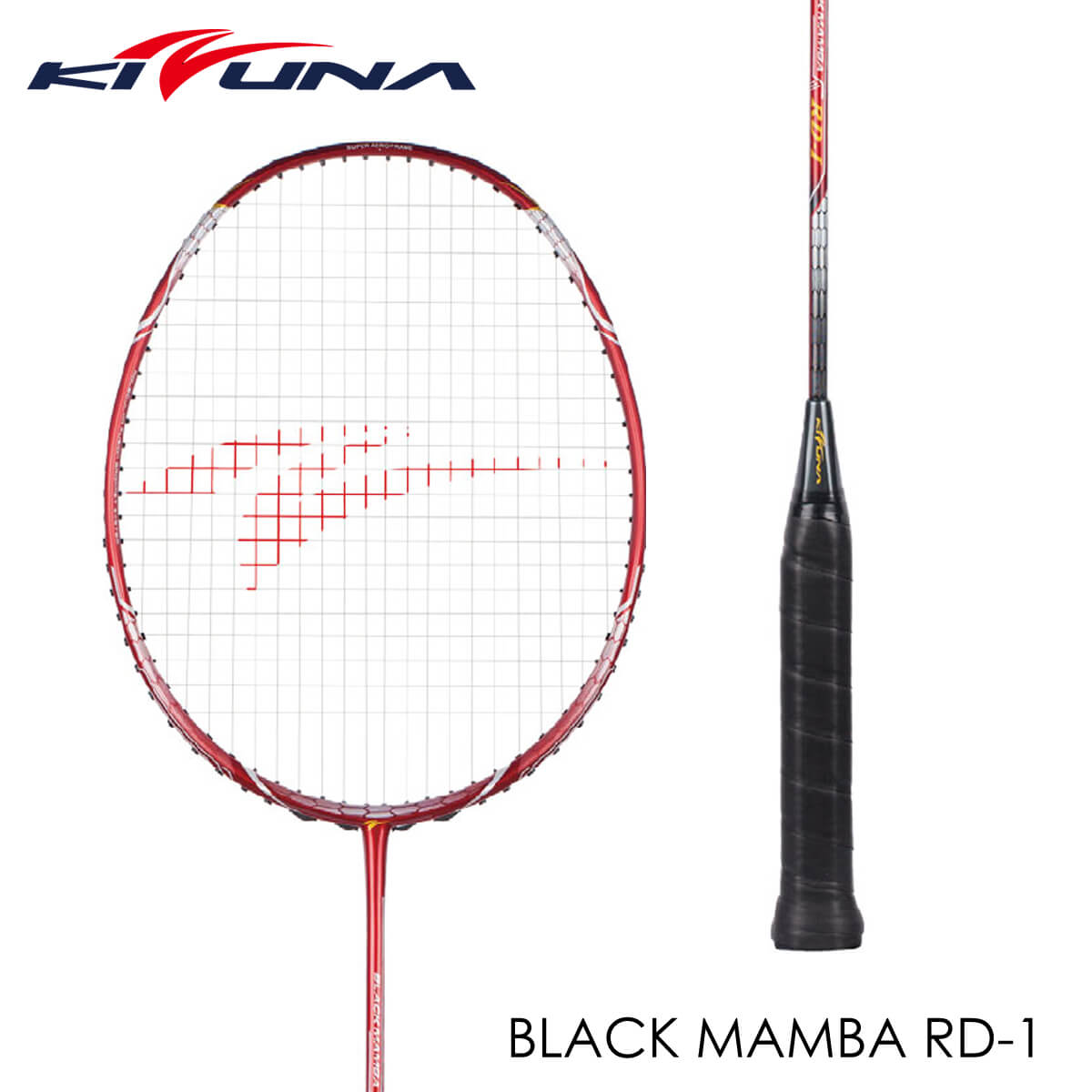 KIZUNA BK-RD1 BLACKMAMBA ブラックマンバ バドミントンラケット キズナ【ガット張り工賃無料/ 取り寄せ】