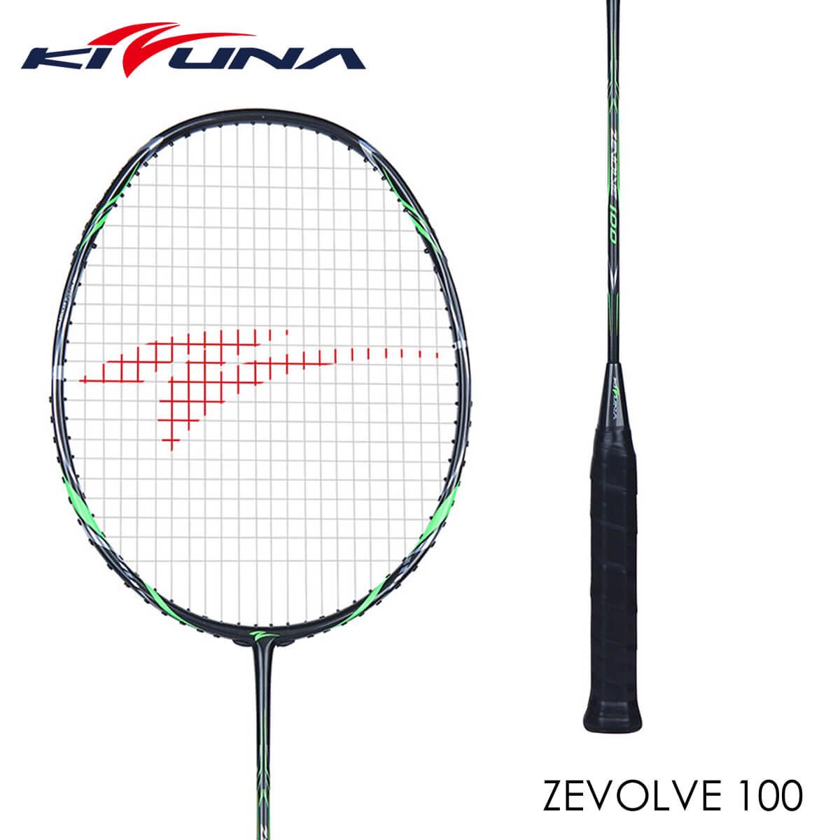 KIZUNA Z100 ZEVOLVE 100 バドミントンラケット キズナ【ガット張り工賃無料/ 取り寄せ】