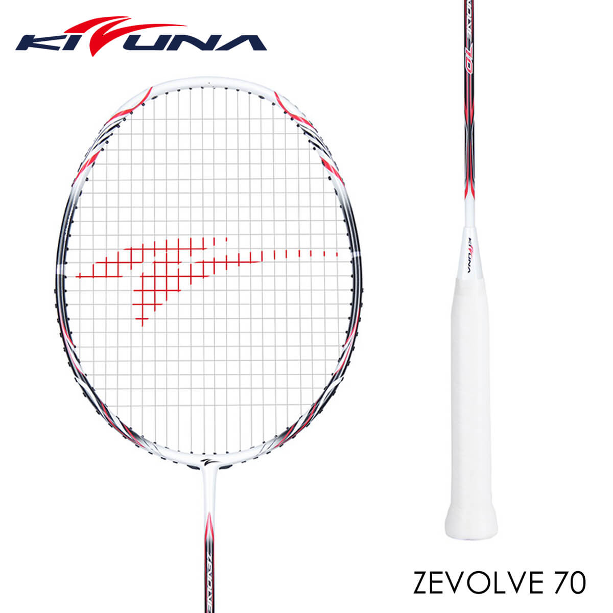 KIZUNA Z70 ZEVOLVE 70 バドミントンラケット キズナ【ガット張り工賃無料/ 取り寄せ】