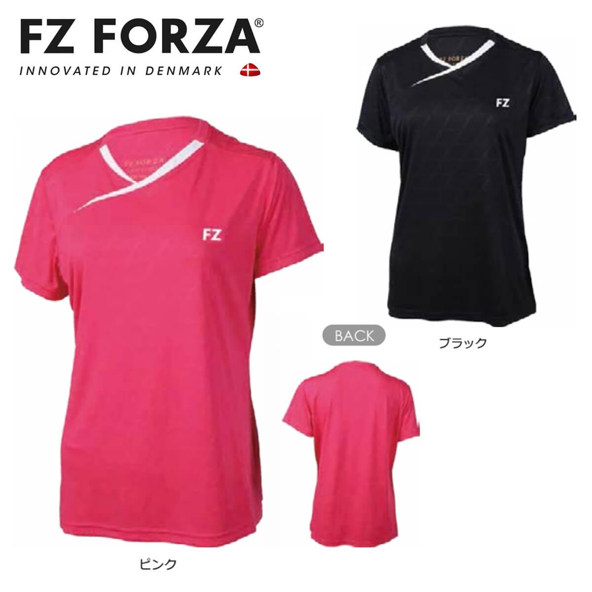 送料無料 新品 FZ 新色 FORZA 302494 ゲームシャツ レディース 日本バドミントン協会審査合格品 メール便可 フォーザ 超特価 バドミントンウェア