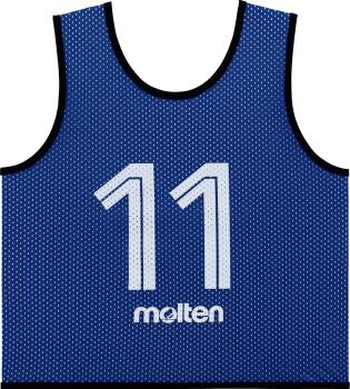 molten GS0112-B ゲームベストGVジュニア10枚セット 青 オールスポーツ 設備・備品 モルテン 2018【取り寄せ】