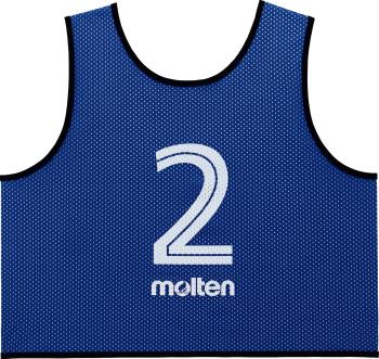 molten GS0113-B ゲームベストGV10枚セット 青 オールスポーツ 設備・備品 モルテン 2018【取り寄せ】