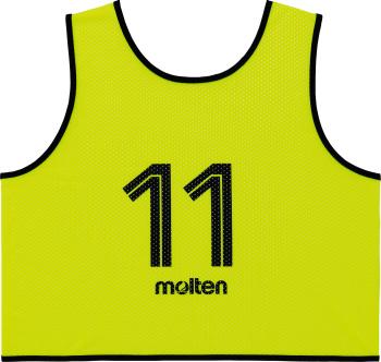 molten GS0113-KL ゲームベストGV10枚セット 蛍光イエロー オールスポーツ 設備・備品 モルテン 2018【取り寄せ】