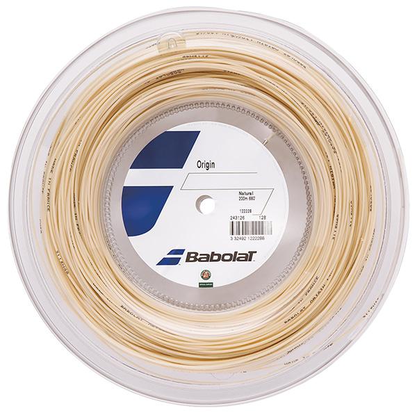 Babolat BA243126-R オリジン125/130(ロールタイプ) ストリング テニス バボラ【取り寄せ】
