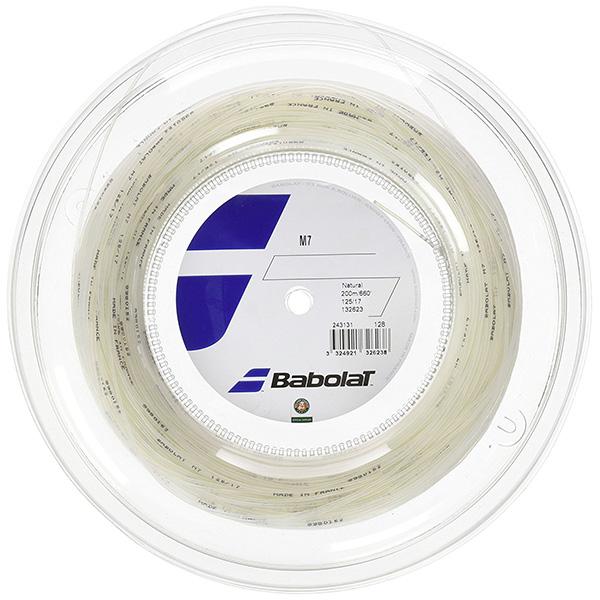 2019年新作 Babolat BA243131-R M7125/130/135(ロールタイプ) BA243131-R ストリング テニス バボラ ストリング【取り寄せ Babolat】, 豆吉本舗:49624cfb --- business.personalco5.dominiotemporario.com
