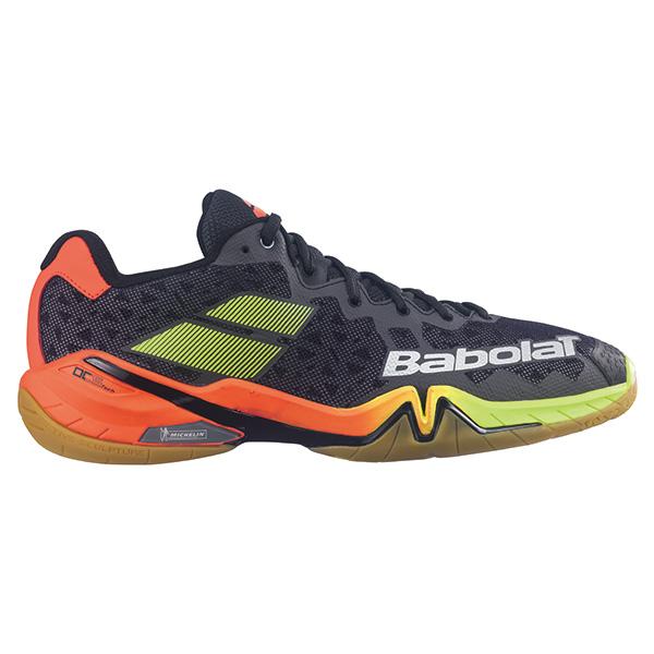 【大特価】Babolat BASF1801 シャドウ ツアーM SHADOW TOUR ブラック バドミントンシューズ バボラ【日本バドミントン協会審査合格品】