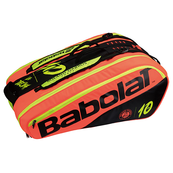 Babolat BB751164 ラケットバッグ デシマ ピュア フレンチオープン バドミントン・テニスバッグ(12本収納可) バボラ【限定品/ 取り寄せ】