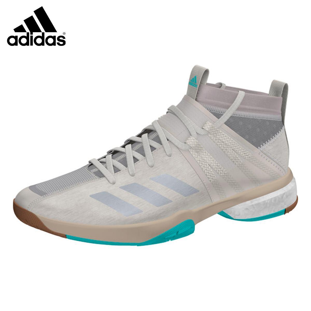 adidas DA8867 ヴフトP8.1 Boost搭載シューズ ブラウン バドミントンシューズ アディダス 2018FW【日本バドミントン協会審査合格品/ 取り寄せ】