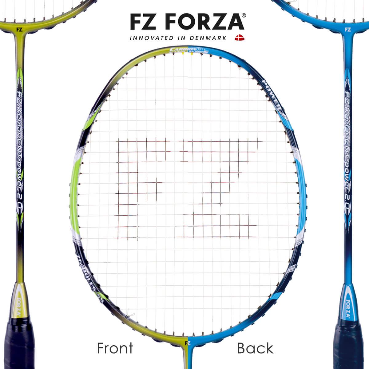 FZ FORZA Kevlar CNT-power 2.0 ダブルフェイスカラー 76ホール FZ フォーザ バドミントンラケット【オススメガット&ガット張り工賃無料】