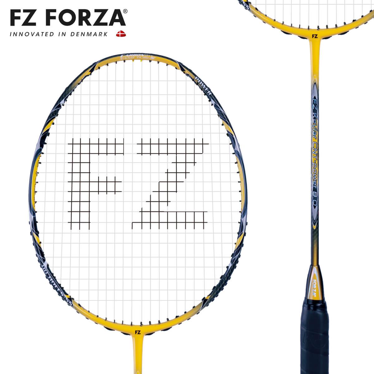 FZ FORZA Kevlar CNT-power 8.0 88ホール FZ フォーザ バドミントンラケット【オススメガット&ガット張り工賃無料】