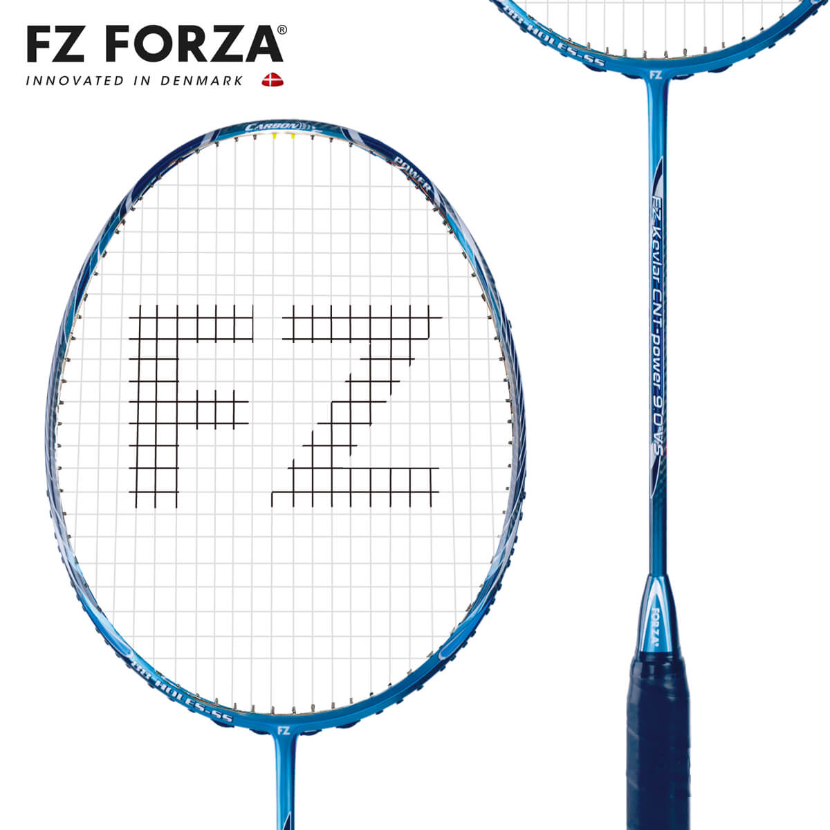 FZ FORZA Kevlar CNT-power 9.0VS 88ホール FZ フォーザ バドミントンラケット【オススメガット&ガット張り工賃無料】