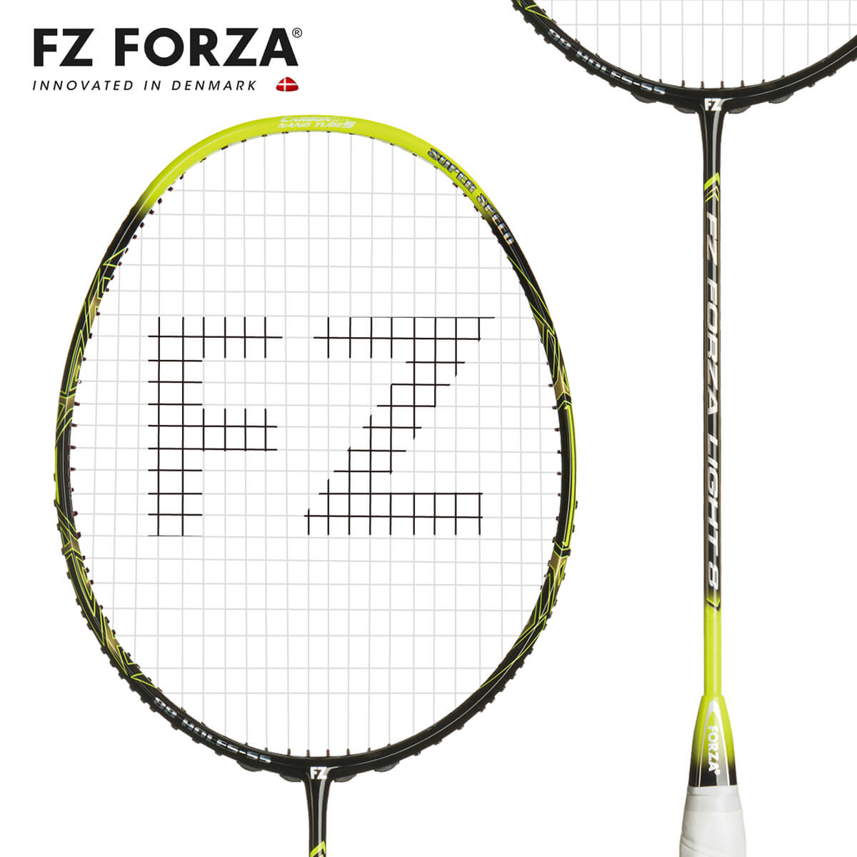 FZ FORZA LIGHT8 超軽量 SuperSpeed FZ フォーザ バドミントンラケット【オススメガット&ガット張り工賃無料/ 数量限定】