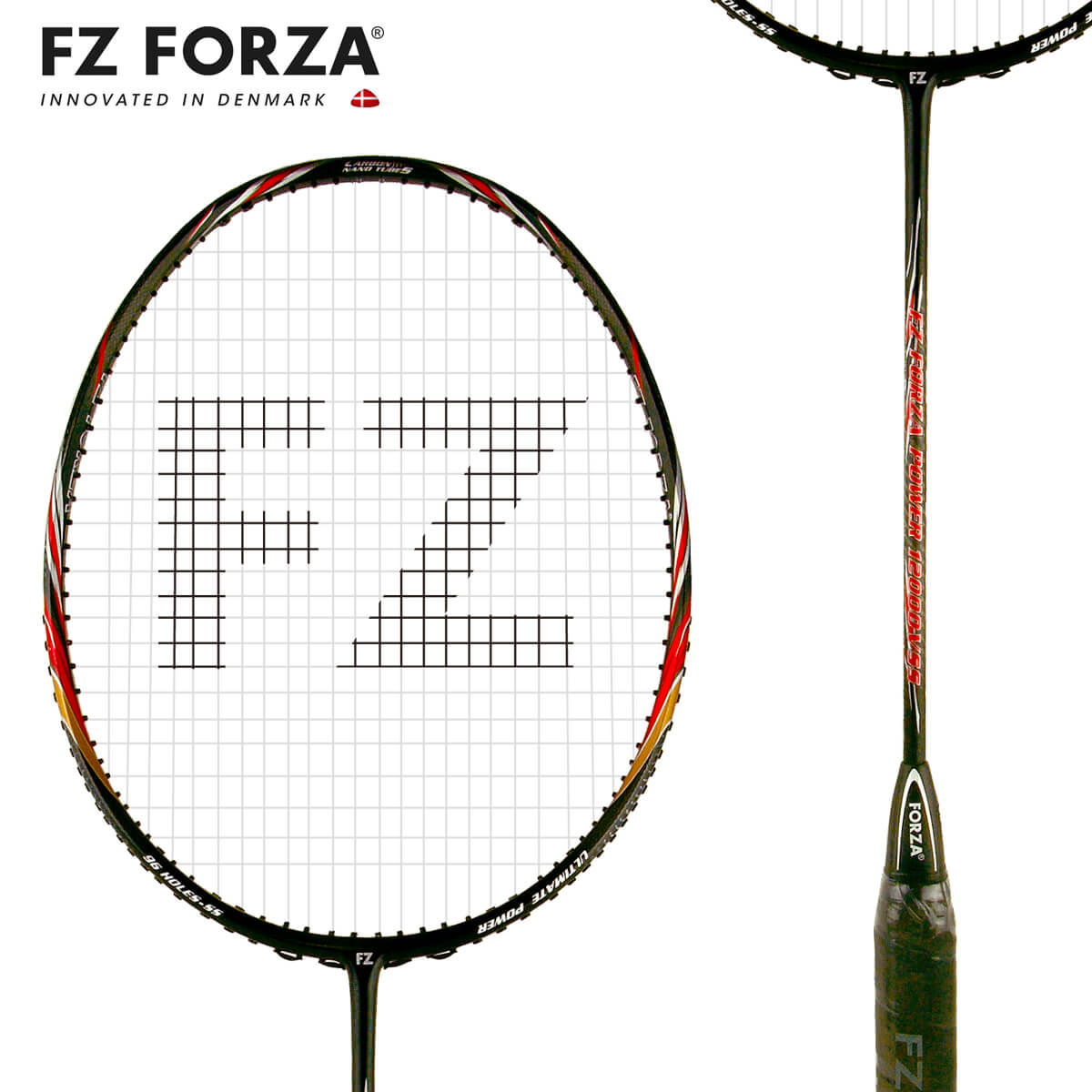 FZ FORZA Power12000 VSS 96ホール FZ フォーザ バドミントンラケット【オススメガット&ガット張り工賃無料】