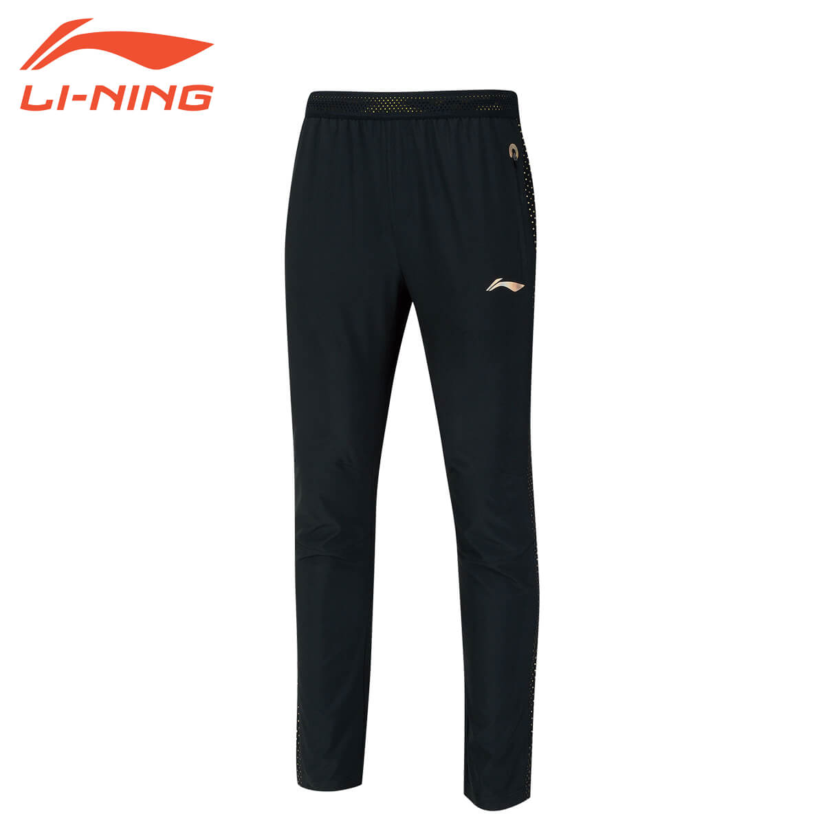 LI-NING AYKN405 トレーニングパンツ ナショナルチームモデル(ユニ/メンズ) バドミントンウェア リーニン
