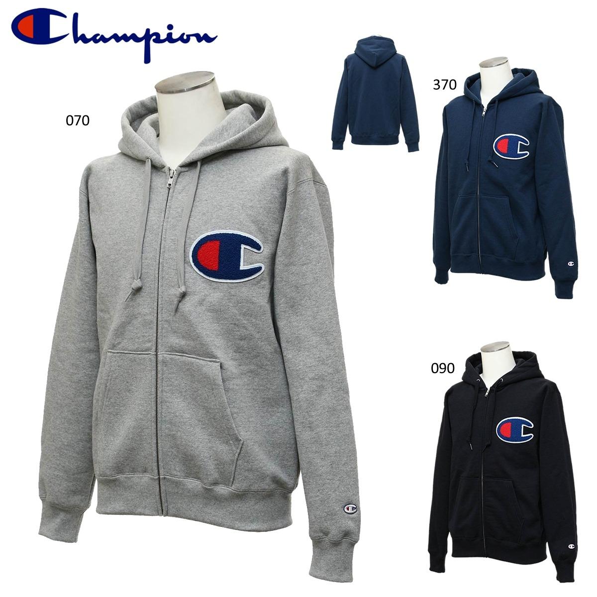 Champion C3-E128 ZIP HOODED SWEATSHIRT ウェア(メンズ/ユニ) チャンピオン 2018FW【取り寄せ】