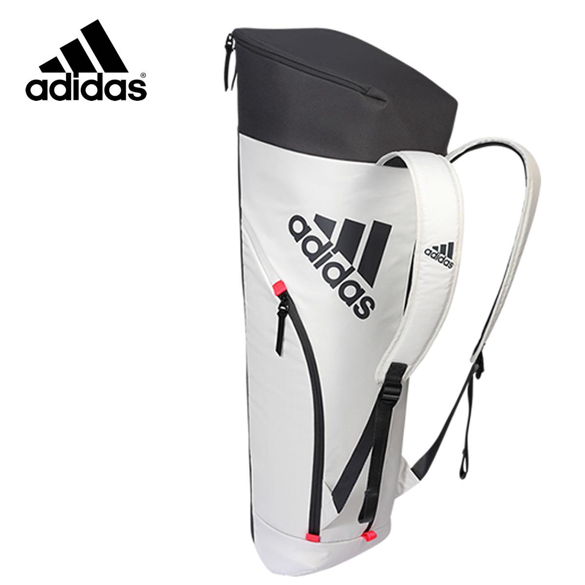 adidas BG940211 スタイルラケットバッグ(6本入) ホワイト バドミントンバッグ アディダス【取り寄せ】