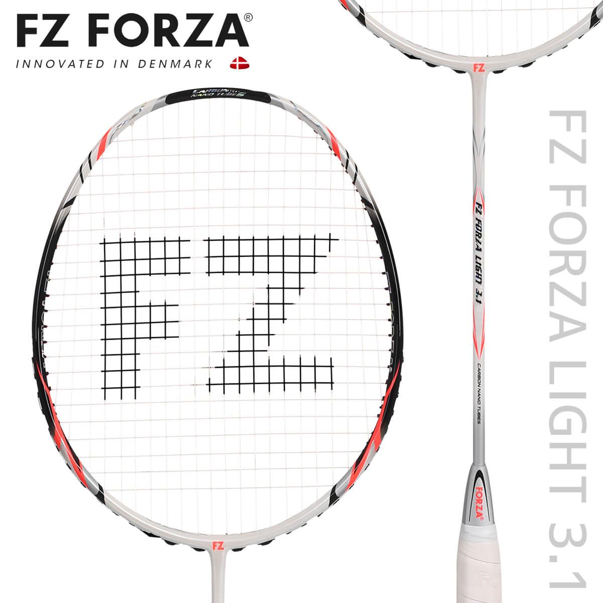 FZ FORZA LIGHT31 LIGHT 3.1 バドミントンラケット フォーザ【日本バドミントン協会審査合格品/オススメガット&ガット張り工賃無料】