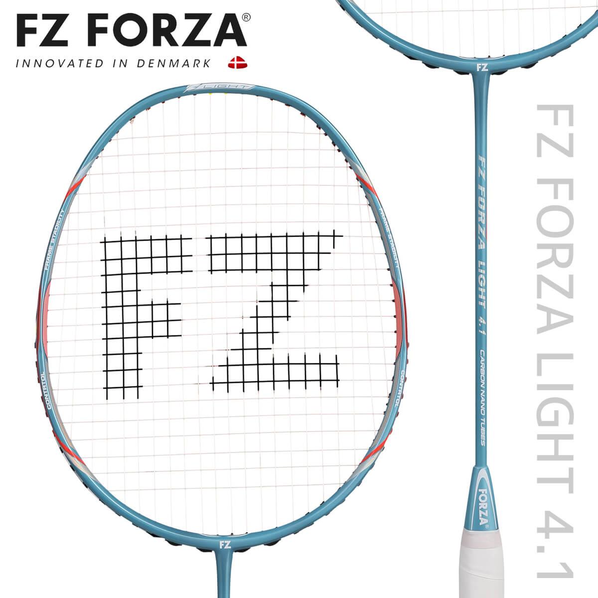 FZ FORZA LIGHT41 LIGHT 4.1 バドミントンラケット フォーザ【日本バドミントン協会審査合格品/オススメガット&ガット張り工賃無料】