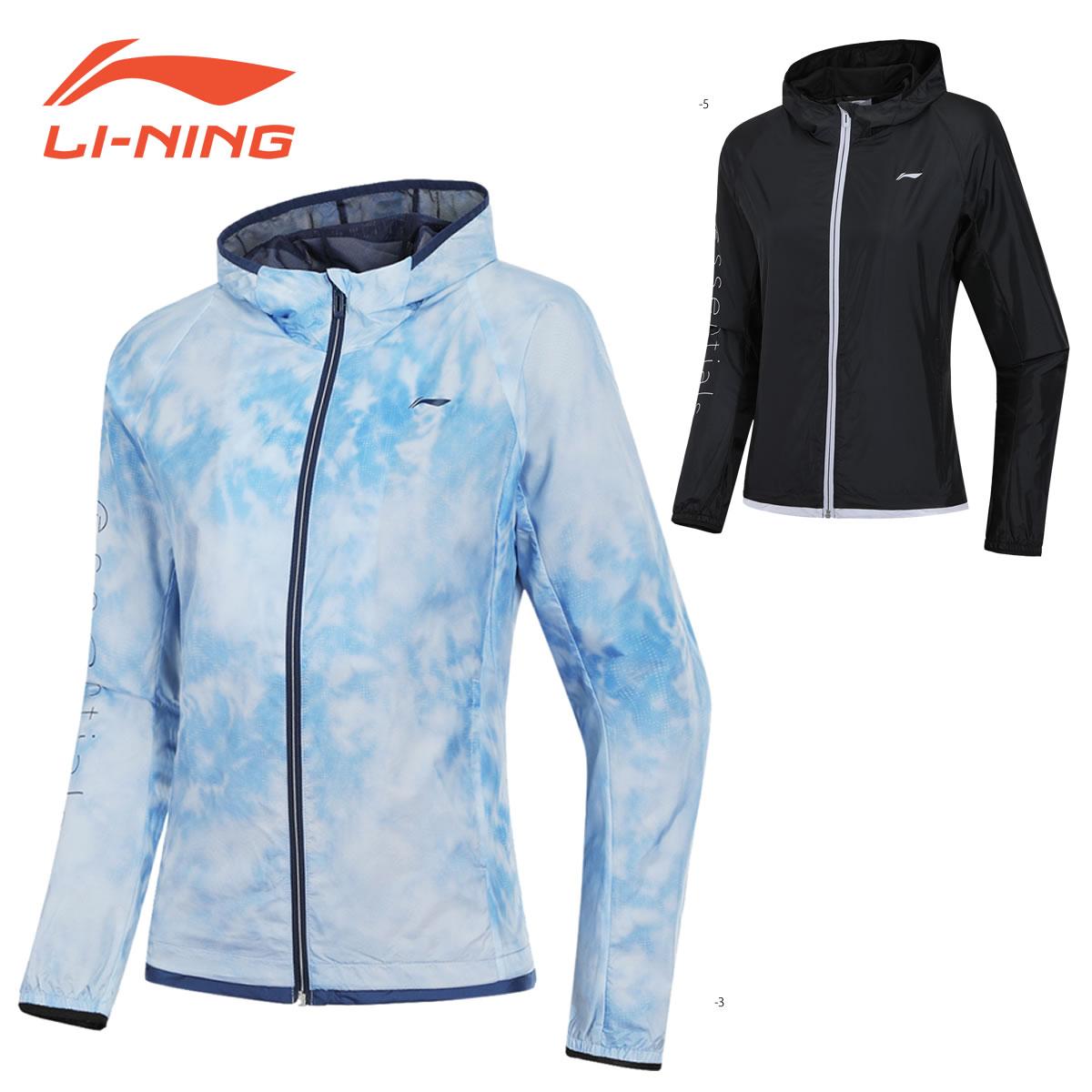 LI-NING AFDN178 ウォームアップジャケット バドミントンウェア(レディース) リーニン