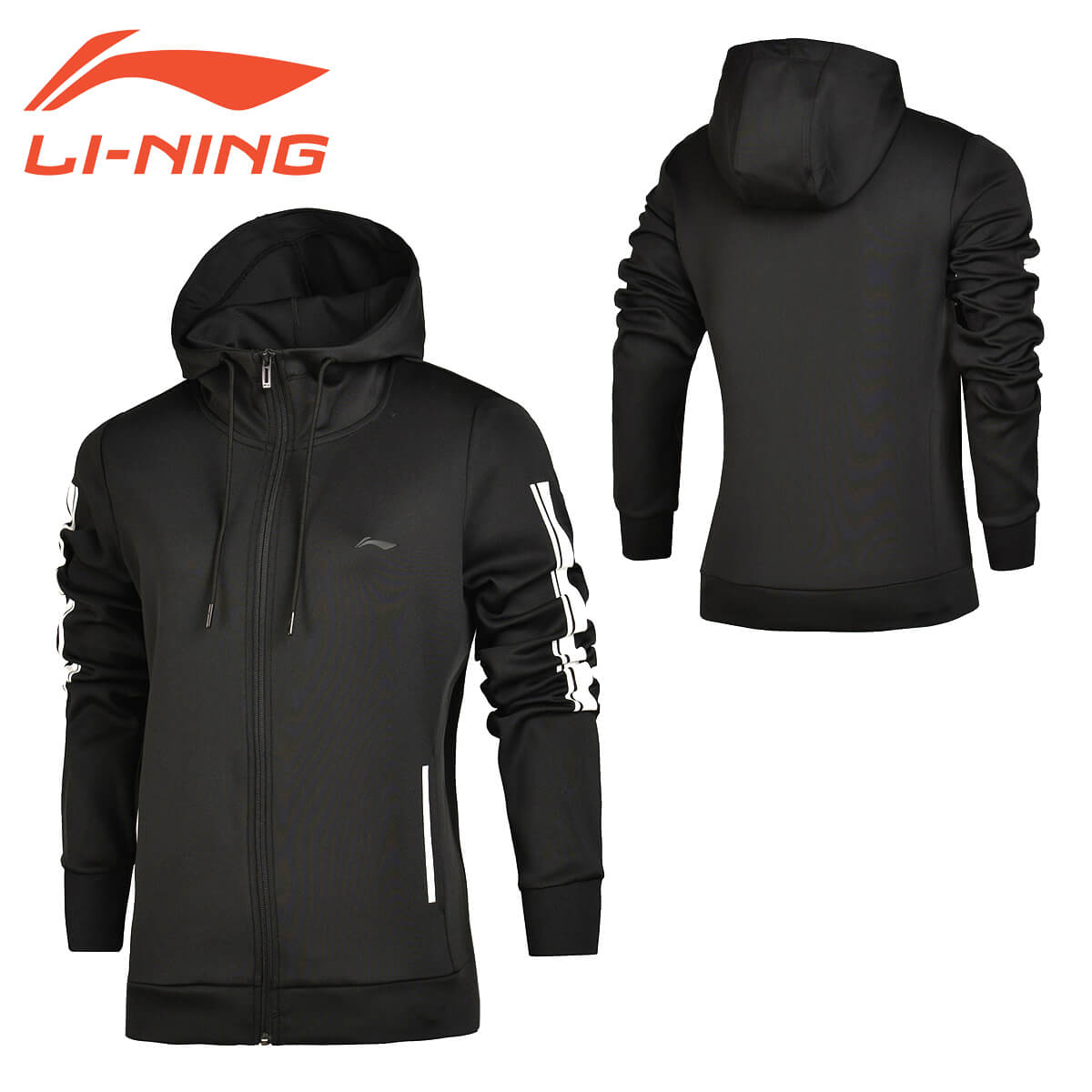 LI-NING AWDM362 反射型 ウォームアップジャケット スポーツウェア リーニン