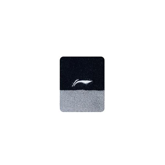 LI-NING セール価格 全品最安値に挑戦 AHWJ028-1 ブラック グレー メール便可 優れた吸汗性 リストバンド リーニン