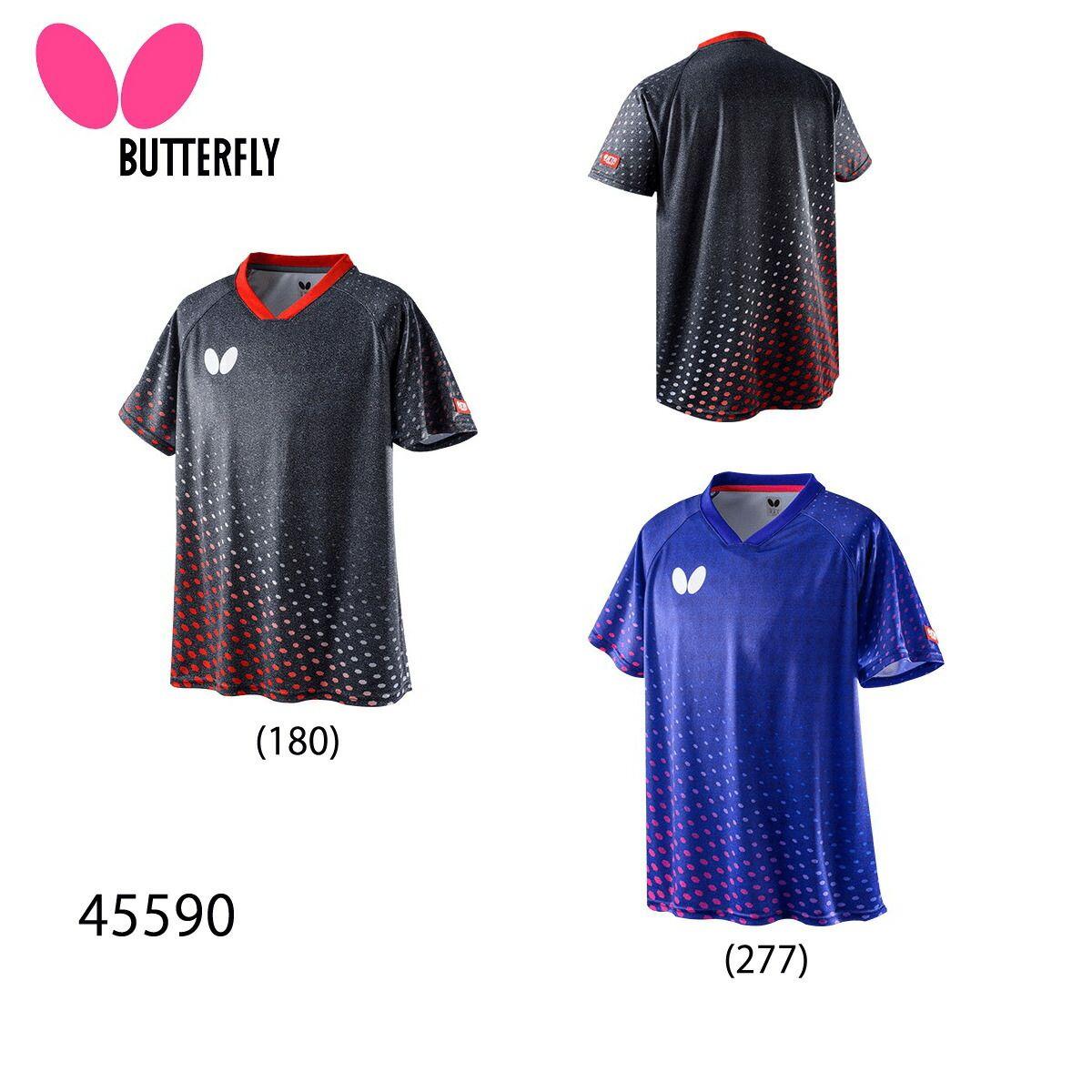 Butterfly 45590 ヘルダス シャツ バーゲンセール 卓球ウェア 取り寄せ ユニ バタフライ メール便可 2020SS 店舗