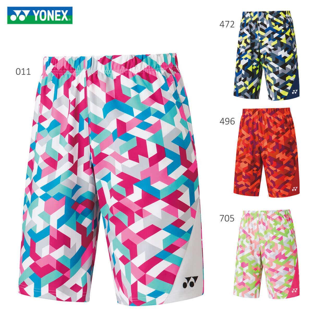 YONEX 15090 ニットハーフパンツ フィットスタイル ウェア メンズ バドミントン テニス メール便可 日本バドミントン協会審査合格品 2020年春夏モデル 取り寄せ 直送商品 贈与 ヨネックス