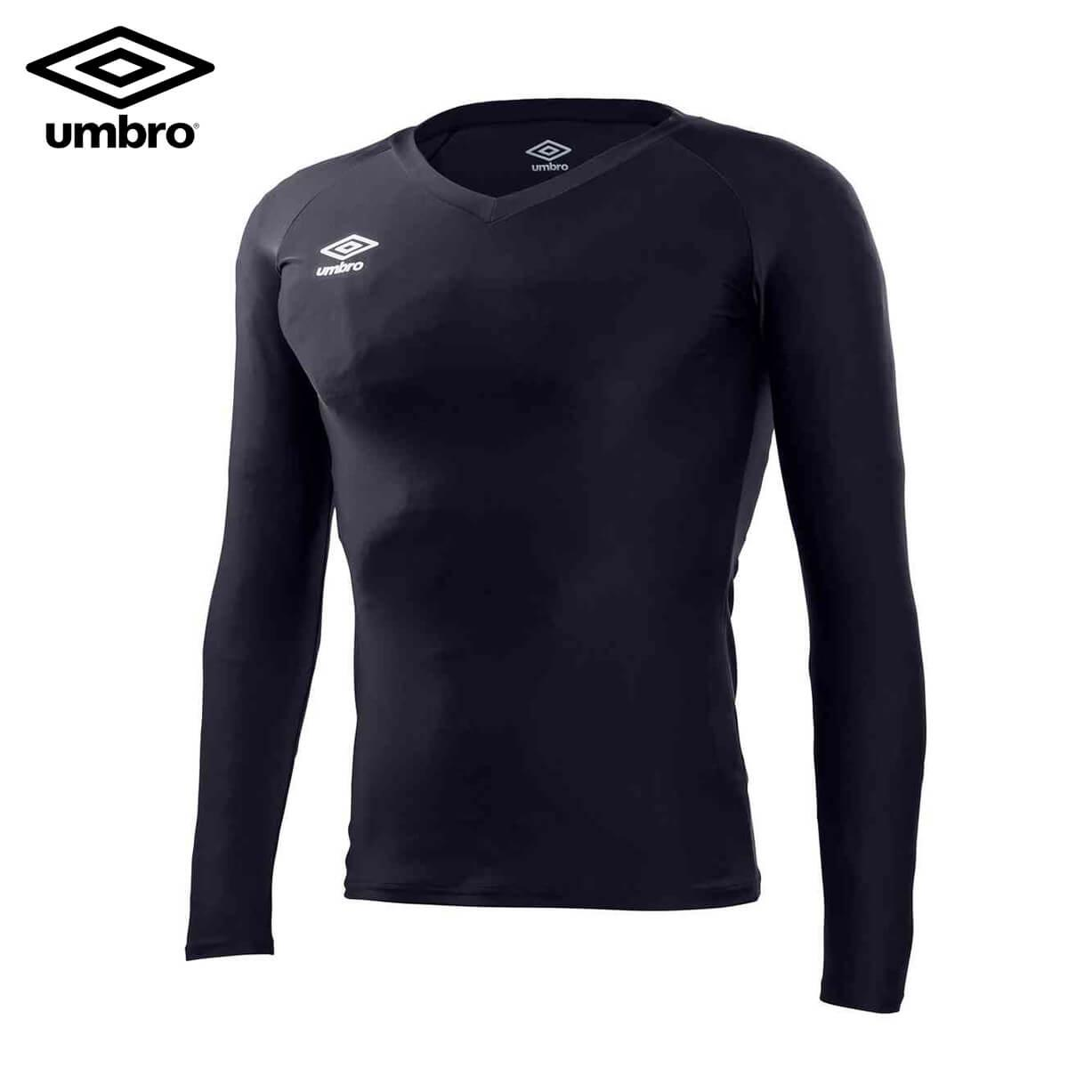 umbro 店舗 UAS9701L L S パワーインナー セール商品 Vネックシャツ ウェア ユニ メール便可 サッカー 取り寄せ 2020SS アンブロ