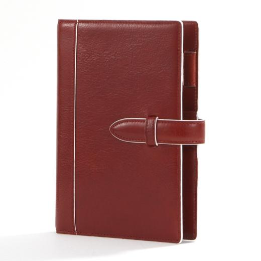 【本革】【プレゼント】【ビジネス】アシュフォード ASHFORDシステム手帳 イシュー バイブルサイズNO,7195-044 RED(お取り寄せにてお伺い致します。)