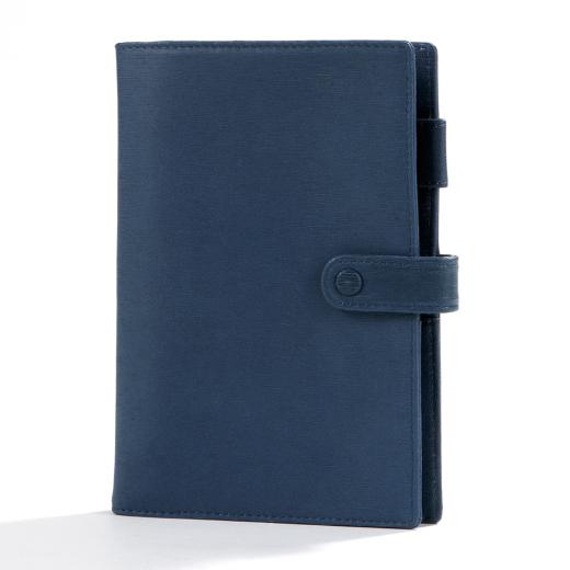 アシュフォード ASHFORDシステム手帳 キャロル バイブルサイズ7228-077 ネイビー(お取り寄せにてお伺い致します。)