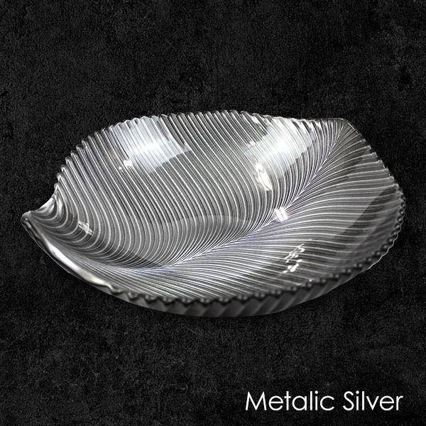 マンボ 食器 超美品再入荷品質至上 クリスタルガラス 贈答品 スピード対応 全国送料無料 食器洗浄機対応 ナハトマン タンブラー メタリックシルバー プレート ボウル25cm ボウル