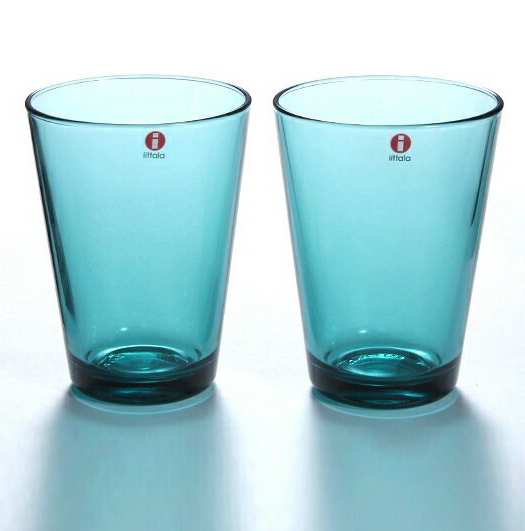 贈り物 北欧 ガラス 食器 カップ 磁器 陶器 シンプル 耐久性 食洗機 iittala イッタラ シーブルー 酒器 ペア グラス カルティオ ハイボール コップ マーケット タンブラー 400ml