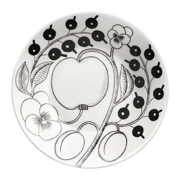 北欧 ガラス 食器 カップ 磁器 陶器 シンプル 直営店 耐久性 食洗機 ARABIA 菓子皿 皿 16.5cm 推奨 アラビア パラティッシ プレート デザート パスタ ブラック