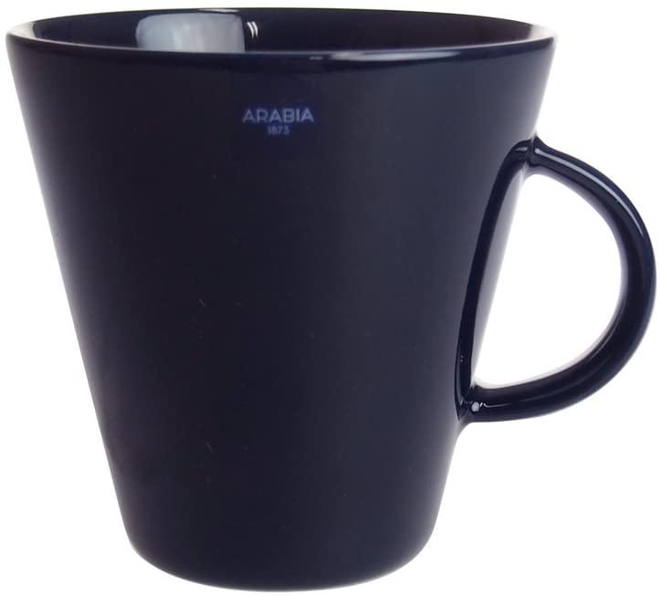 北欧 ガラス 捧呈 食器 カップ 磁器 陶器 シンプル 耐久性 食洗機 コーヒー用品 ティー用品 コップ ココ ブルーベリー マグ 発売モデル 350ml アラビア ARABIA