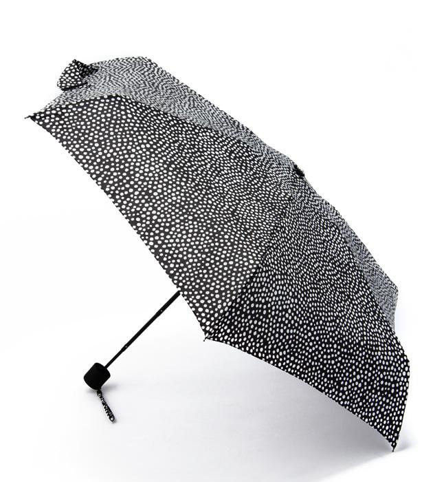 【marimekko】Pirput Parput(ピルプト パルプト) 折りたたみ傘 ブラック /レイングッズ 収納 マリメッコ