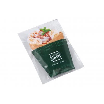 【CafeDeli クレープタオル/1SKU(240個)】タオルがクレープに変身!可愛らしいタオルギフトです。マイクロファイバー フォトジェニック SNS 女子 プレゼント