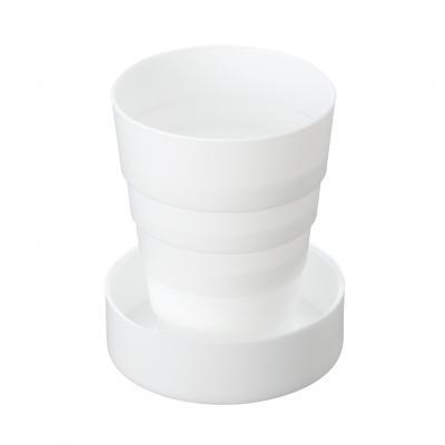 【折りたたみ携帯コップ/ホワイト/1カートン (200個)】折り畳んでコンパクトに携帯できるコップです/1カートン。外出先 旅行 薬 薬 ピルケース サプリメント 服用 うがい 便利 ピルケース, ROTA SPORTS:c710cc20 --- cooleycoastrun.com