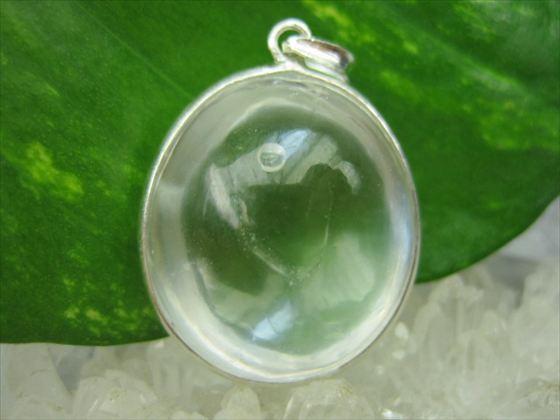 【ペンダントトップ】水入り水晶14g
