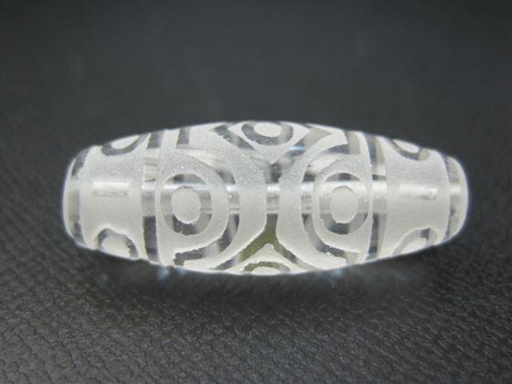 チベット水晶天珠 お中元 [再販ご予約限定送料無料] 十五眼天珠36×11mm