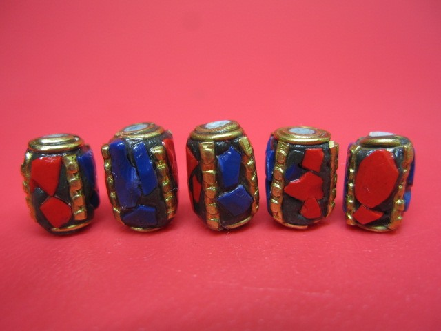 人気の製品 粒売り チベットアンティークビーズ11×8±0.5mm お値打ち価格で 10粒SET