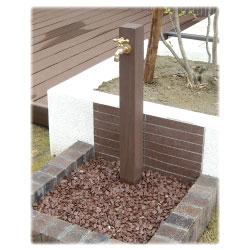 ディーズガーデン DGW0102 水栓柱 ウォータースタンドTypeA 立水栓一口タイプ 蛇口1個付き deas