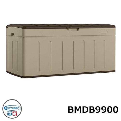 アメリカ製 耐久性に優れた樹脂製収納ボックス ガーデンニング用品の収納 サンキャスト 99ガロンデッキボックスブロー suncast BMDB9900