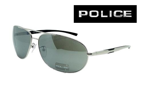 POLICE ポリスサングラス S8182G-579S ATSUSHIモデル メンズ レディス【クリーナープレゼント】【あす楽】