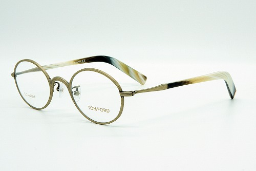 TOMFORD【トムフォード】眼鏡フレームアンティークデザイン チタン TF5419-028 (45SIZE) 正規品【クリーナープレゼント】