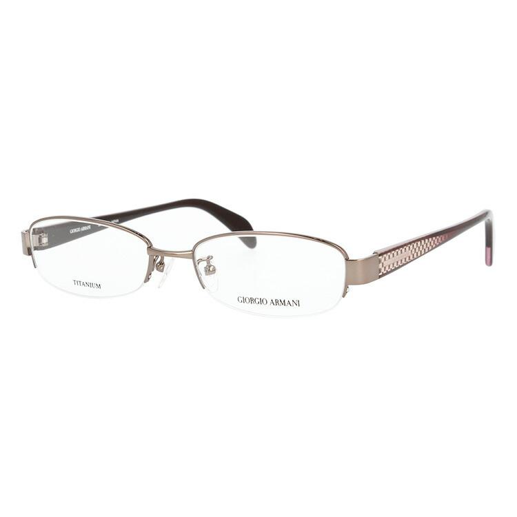 GIORGIO ARMANI ジョルジオ アルマーニ 伊達メガネ 眼鏡 GA2680J 9L6 51サイズ チタン/ハーフリム/スクエア/メンズ/ユニセックス/レディース