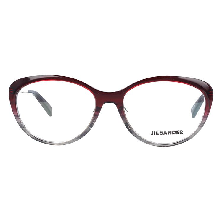 34dfa3cbabee ジルサンダー 伊達メガネ 眼鏡 JIL SANDER SANDER SANDER J4001-N 55サイズ アジアンフィット レディース cd3